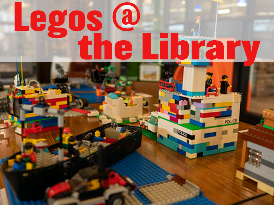 Legos at the Library Image
