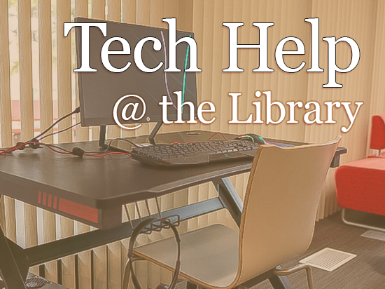 Tech Help at the Library Image